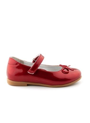Cici Bebe Ayakkabı Rugan E Kız Çocuk Ayakkabısı Kırmızı